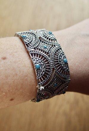 Armband silber türkis Boho Hippie