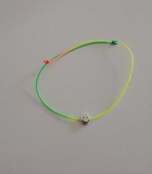 Armband neongeel-groen