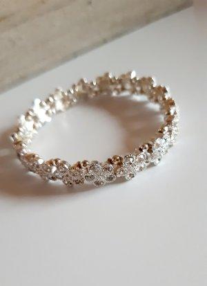 keine Marke Armband zilver