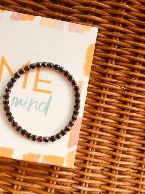 Armband Strass bunt Freundschaftsarmband Zara