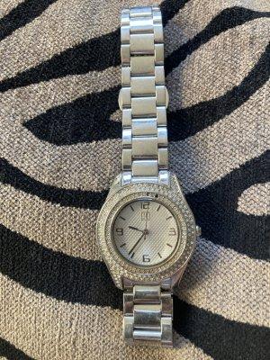 Jette Joop Watch With Metal Strap light grey
