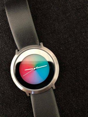 Colour Inspiration Montre avec bracelet en cuir multicolore cuir
