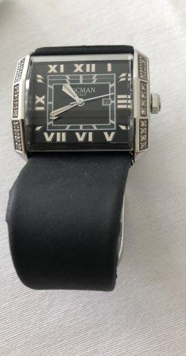Orologio automatico nero-argento