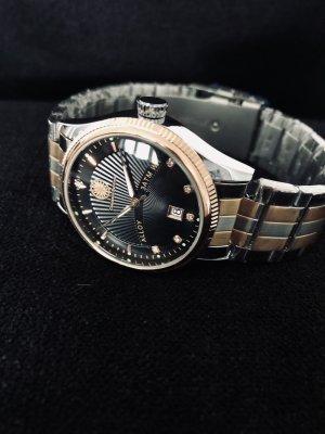 Constantin Durmont Reloj con pulsera metálica color plata-color rosa dorado