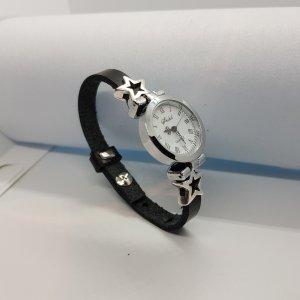 Armband zwart Leer