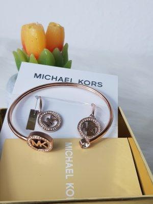 armband und Ohrringe mk