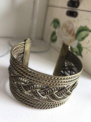Armband verschnörkelt Bronze