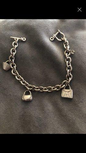 Aigner Charm Bracelet silver-colored