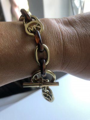 Michael Kors Gold Bracelet multicolored