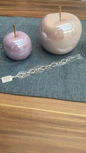 s.Oliver Silver Bracelet silver-colored