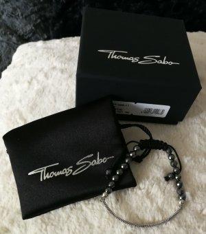 Thomas Sabo Bracelet silver-colored-black