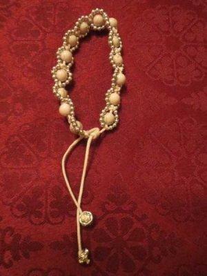 Brazalete de perlas blanco-blanco puro