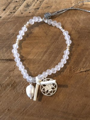 Lizas Bracelet blanc-argenté