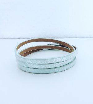 Armband Wickelarmband metallic mit Magnetverschluss