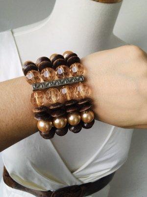 Armband XL Steinchen/Perlen