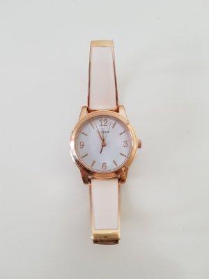 Timex Reloj analógico color rosa dorado-crema