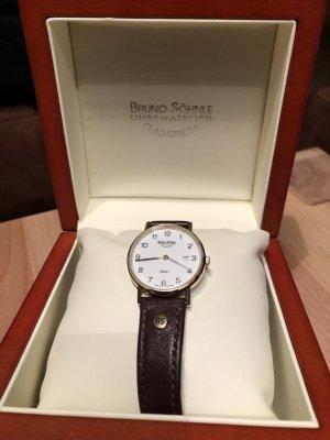 Bruno Söhnle Reloj con pulsera de cuero multicolor metal