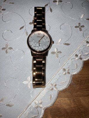 s.Oliver Watch With Metal Strap russet
