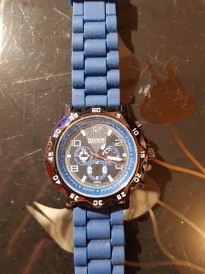 Self-Winding Watch blue