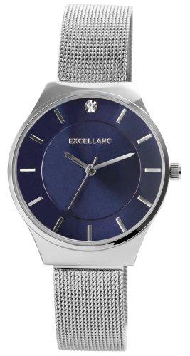Excellent Reloj analógico gris claro metal