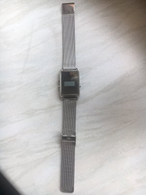 Asos Digital Watch silver-colored