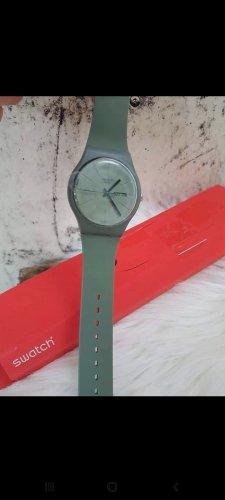 Swatch Montre automatique gris anthracite-taupe