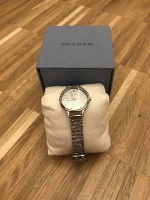 Skagen Horloge met metalen riempje zilver
