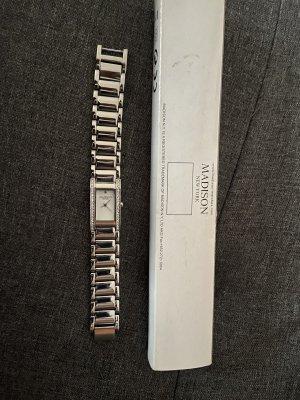 Madison Reloj analógico color plata