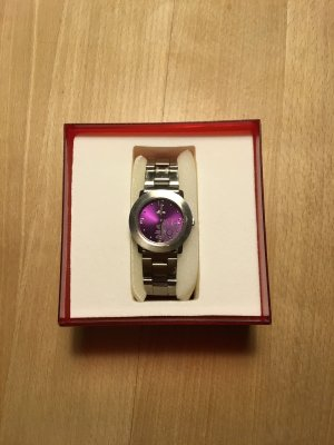 s.Oliver Reloj analógico gris-lila
