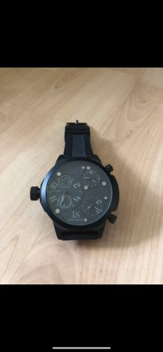 Analoog horloge zwart