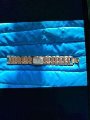 Esprit Zegarek z metalowym paskiem srebrny