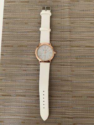 Armbanduhr Damen cremefarben *NEU*