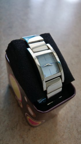 Edc Esprit Analog Watch silver-colored