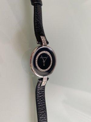 Pierre Cardin Montre avec bracelet en cuir noir