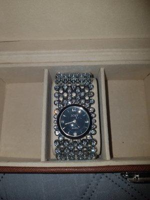Armbanduhr Glitzersteine
