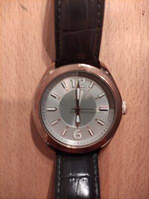 Tommy Hilfiger Reloj con pulsera de cuero multicolor
