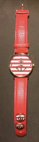 Armbanduhr + Ohrringe