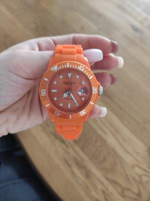 Unbekannte Marke Digital Watch neon orange