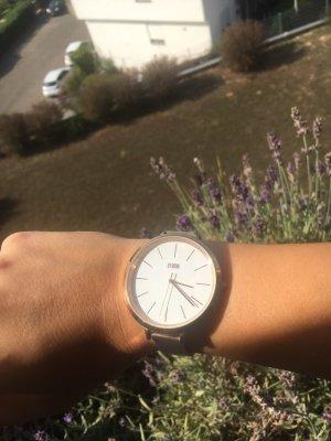 storm Zegarek automatyczny w kolorze różowego złota-biały