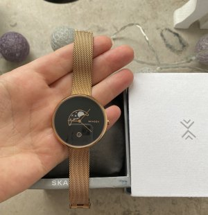 Armbanduhr Roségold Skagen