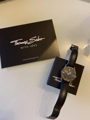 Armbanduhr schwarz Thomas Sabo