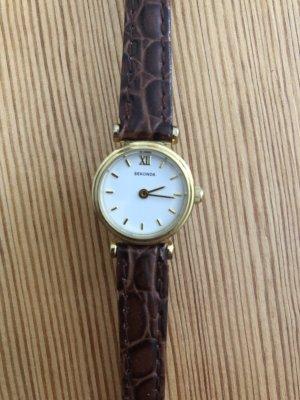 Armbanduhr Sekonda in Gold Braun
