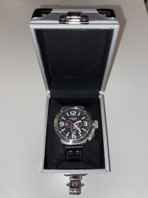 TW Steel Marc Coblen Edition Reloj con pulsera de cuero multicolor