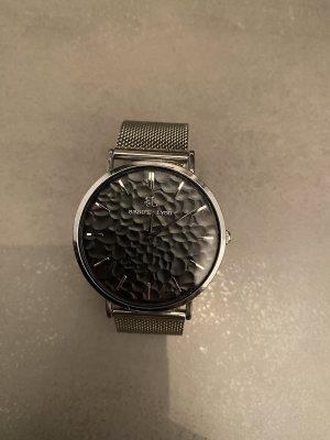 abbott lyon Reloj con pulsera metálica color plata