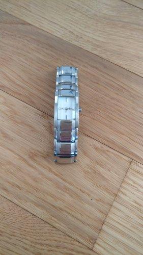 Armbanduhr von DKNY Silber mit weißem Ziffernblatt