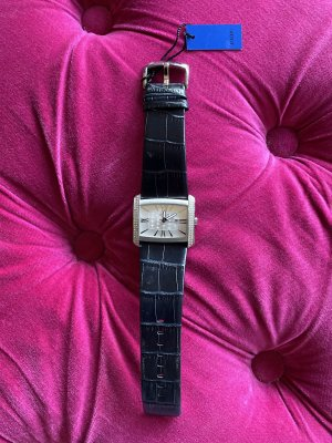Joop! Watch With Leather Strap black