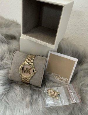 Michael Kors Reloj con pulsera metálica color oro metal