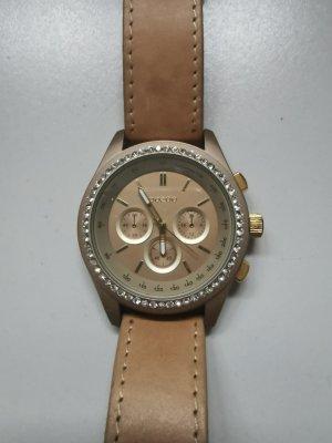 Armbanduhr von Oozoo in beige