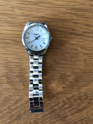 Timex Watch With Metal Strap silver-colored