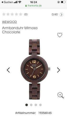 Armbanduhr Wewood Mimosa Cocolate